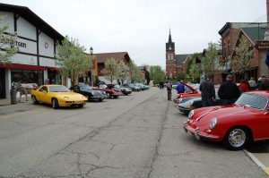 Porsches on First Street