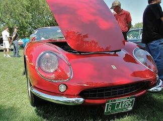 Front of Ferrari