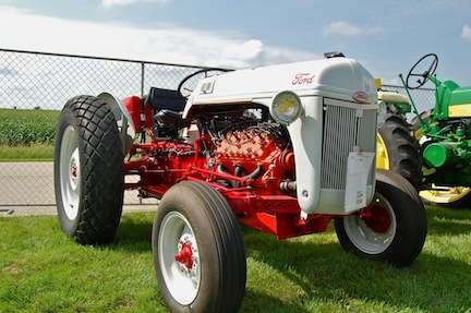 Ford Tractor with Merc. v8