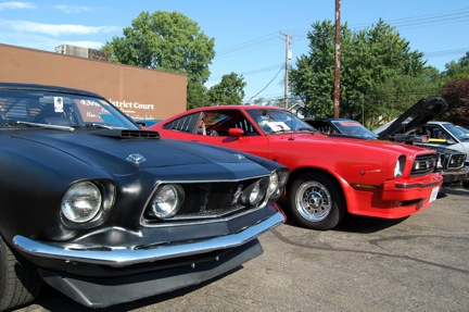 Mustang IIs in Mustang Alley