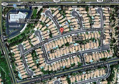 Fun With Google Maps: Lotus Elan Drive, Las Vegas, NV   Cars In Depth