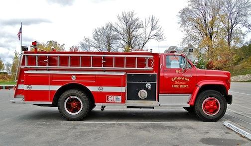 Ephraim fire truck