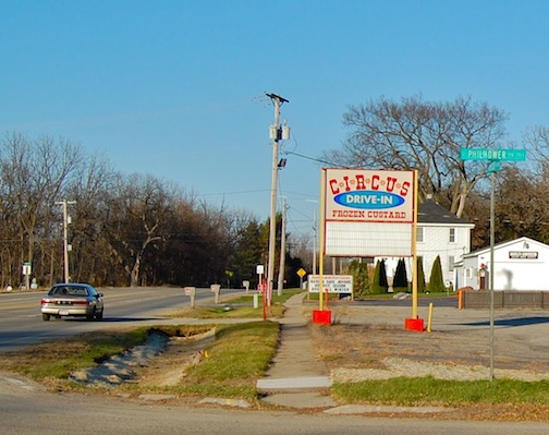 Circus Drive In sign