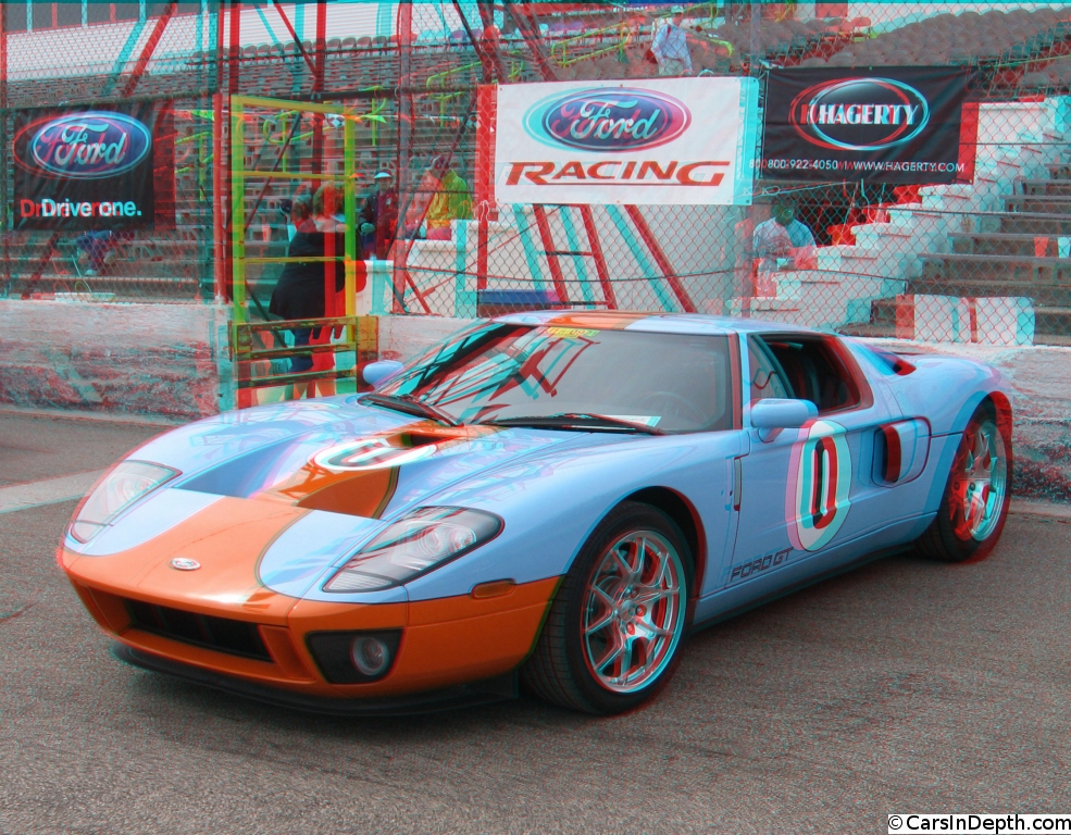Ford Gt In Gulf Livery W On Track Video