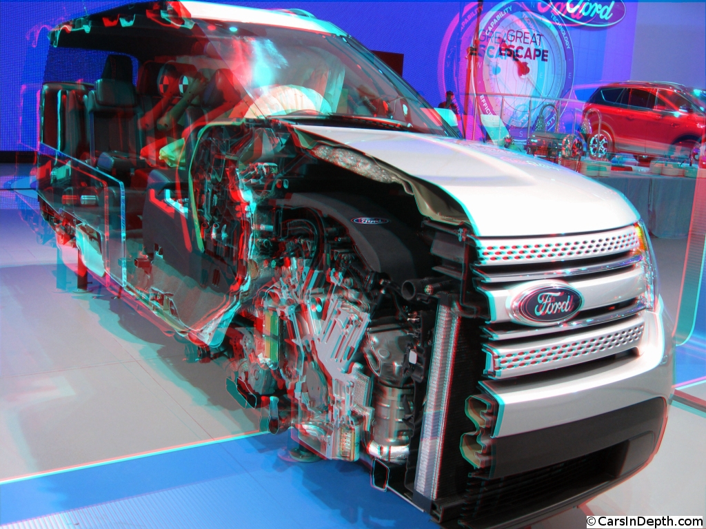 2012 Naias Ford Flex Walkthrough Cutaway W 3d Video Cars In Basic Remote Start On Your Nissan Infiniti Vehicle Depth