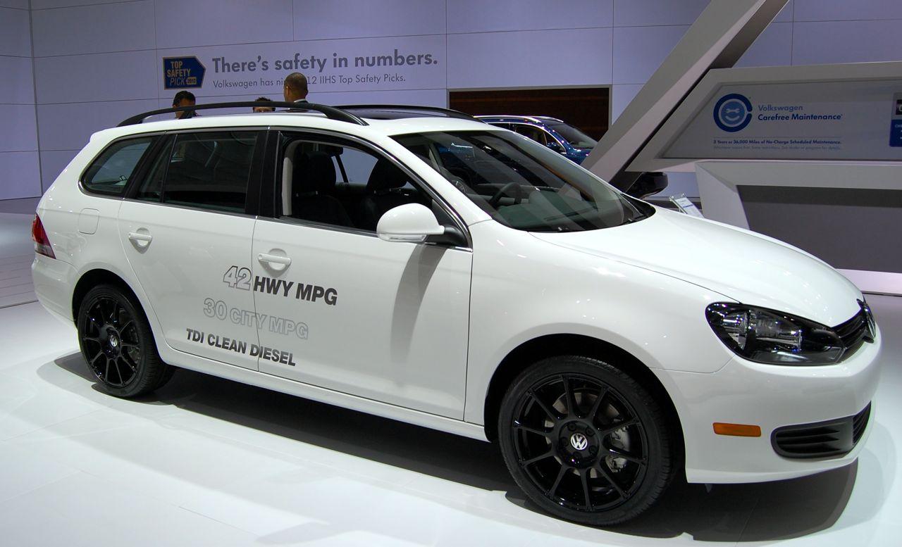 VW Jetta Wagon Day 1