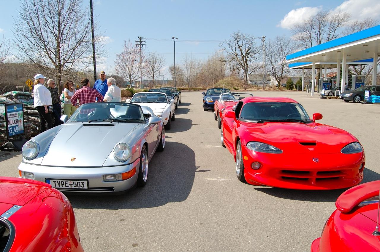 Viper and Porsche
