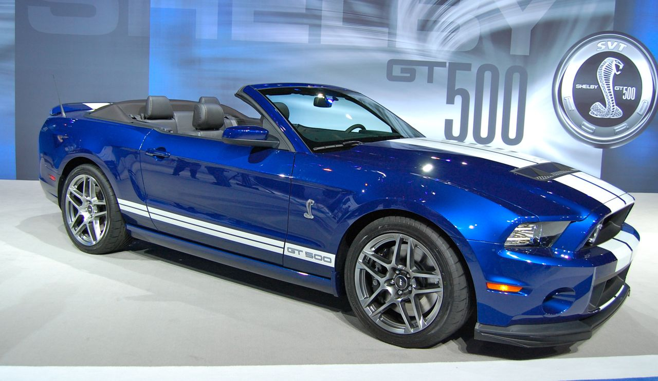 2013 Mustang GT 500