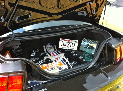 Mustang trunk