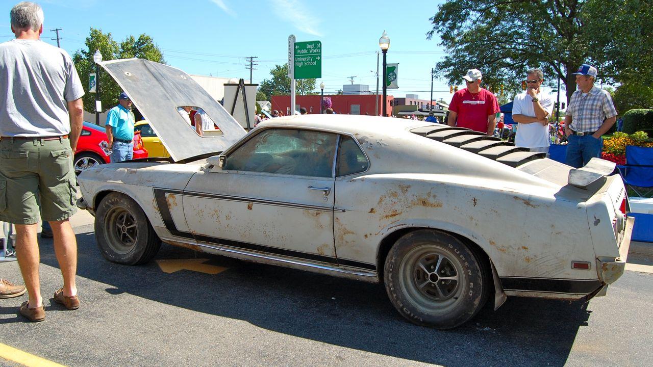 Boss Mustang Prototype