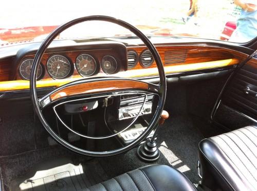 BMW CS interior