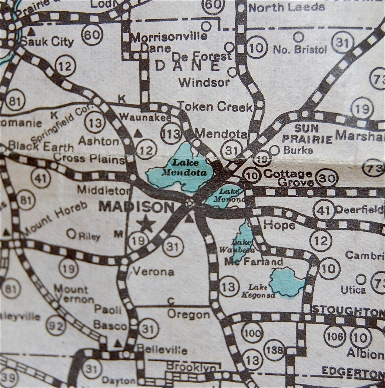 The Holy Grail Of Wisconsin Road Maps Cars In Depth - Wi road map