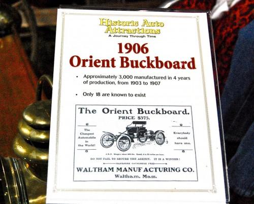 orient buckboard