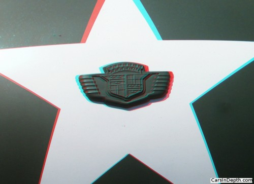 With rank goes privilege. Olive drab Cadillac logo.