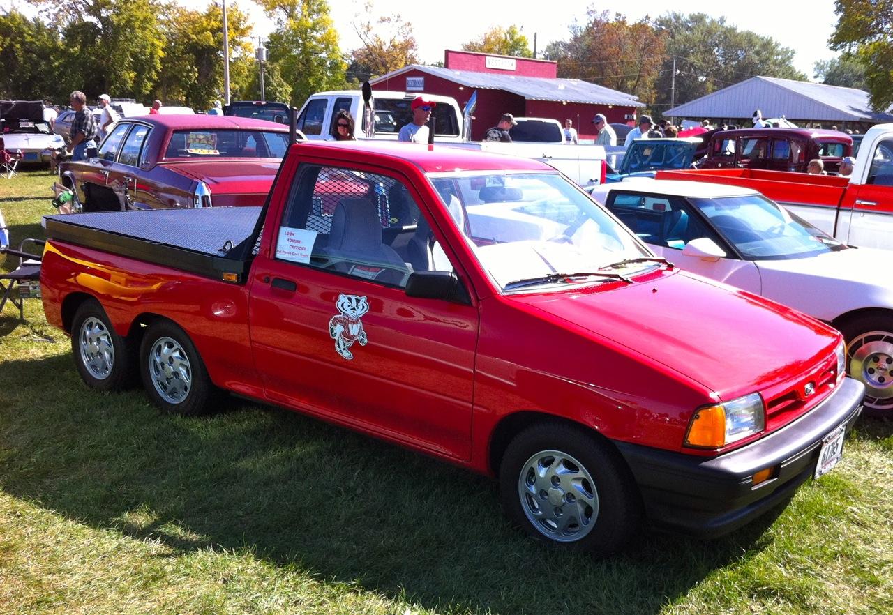 Automotive Oddities Festiva Flatbed