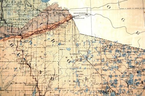 1911 map