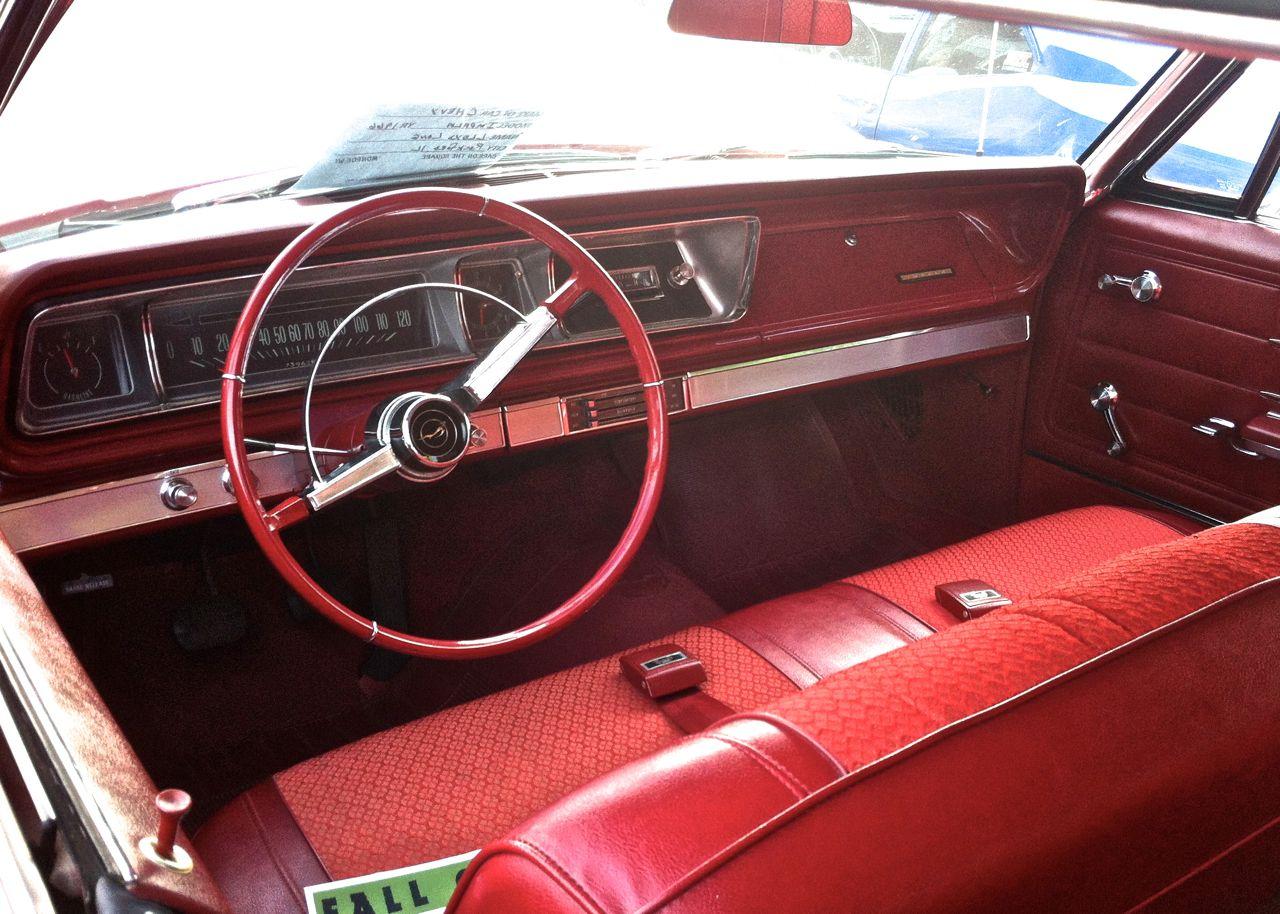 1966 Chevrolet Bel Air Interior Impala Automotive Oddities One Rare Cars In Depth 1280x914