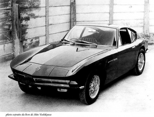 Yamaha's A550X concept that became the Toyota 2000GT
