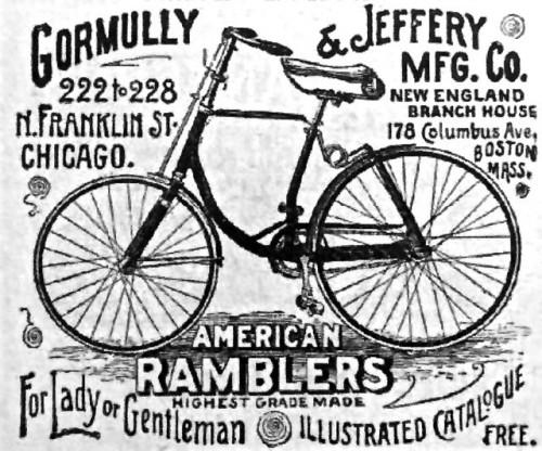 Gormully & Jeffery ad
