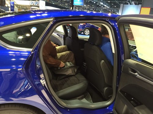 Ford Fusion opening is similar to Chevy Malibu