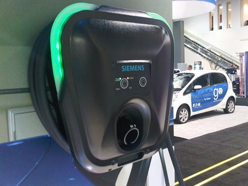 Siemens Versicharge Charging Station Like The